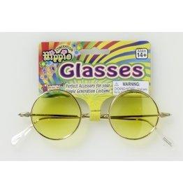 Hippie Glasses - Yellow Lenses