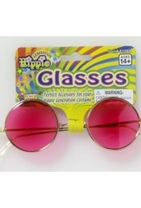 Hippie Glasses - Pink Lenses