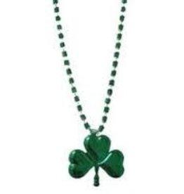 St. Patrick's Day (Shamrock) Beads (12 pck)
