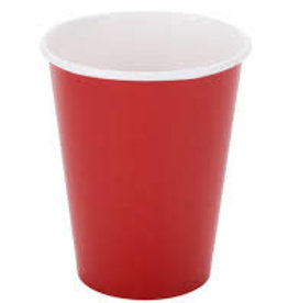 RUBY RED CUPS 9OZ (8PK)