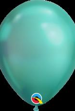 "Qualatex 11"" Chrome Green 100ct"