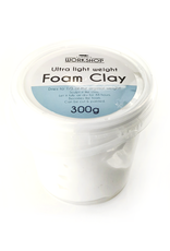 Lumin's Workshop 300g Foam Clay - White
