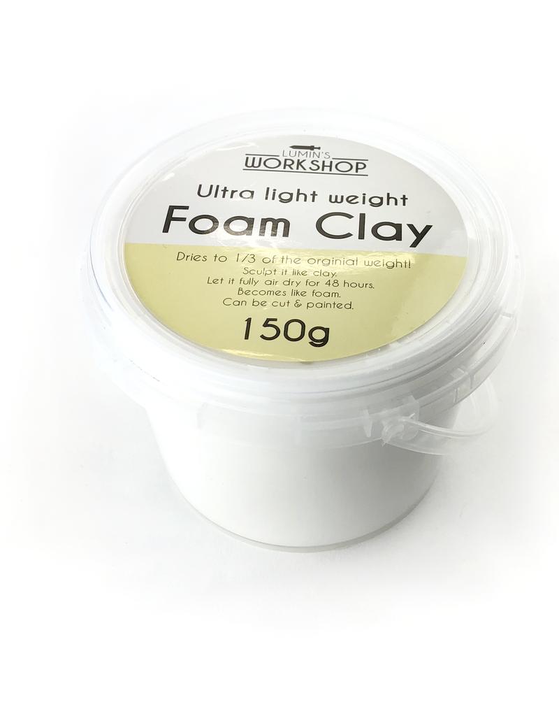 Lumin's Workshop 150g Foam Clay - White