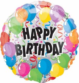 "Qualatex 18"" Birthday Balloons"