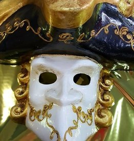 Bauta Phantom Venetian Mask