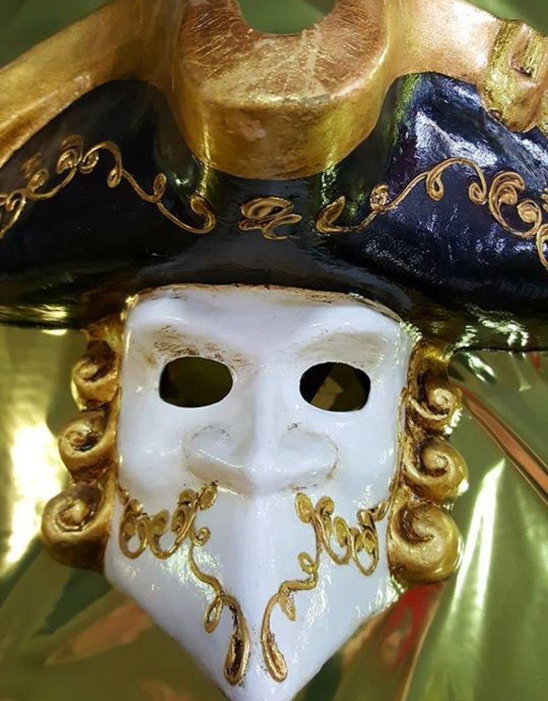 Bauta Phantom Venetian Mask