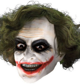 The Joker 3/4 Mask with Hair