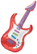 "Qualatex 41"" ELECTRIC GUITAR SUPER SHAPE"
