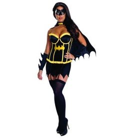 Secret Wishes Batgirl Corset Pack-XSmall
