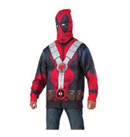 Rubies Costumes DEADPOOL HOODIE -Standard-