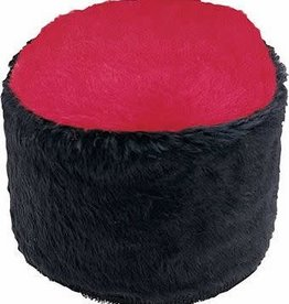 RUSSIAN HAT BLACK AND RED