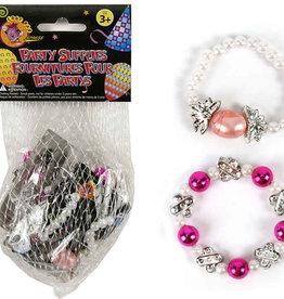 Lootbag Exp. 5-pc Beaded Bracelet, 2 styles,