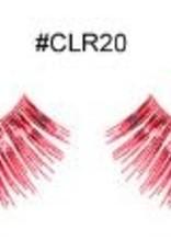 Metallic Red Lashes