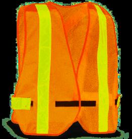 ORANGE SAFETY VEST - One Size -