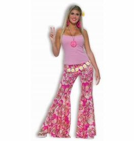 Flower Power Bell Bottom Pants