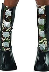 Spiked Camouflage Boot Covers