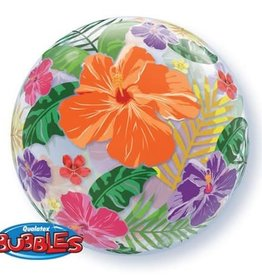 "Qualatex 22"" Bubble - Flower"