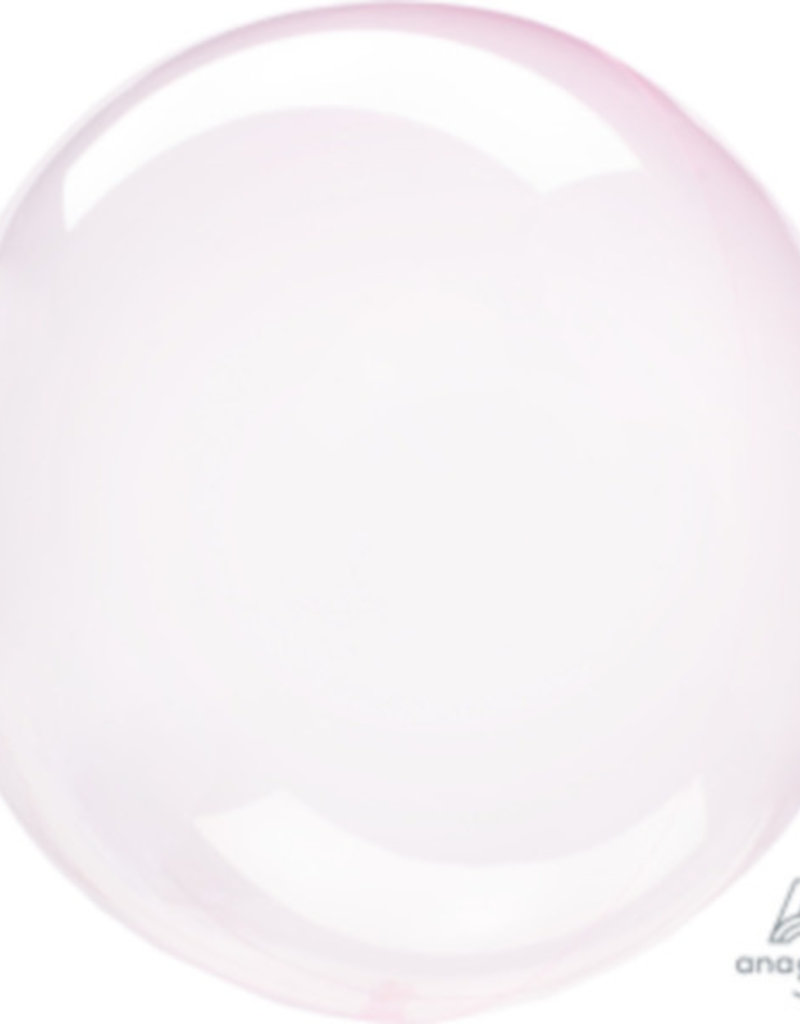 """Crystal Clearz Light Pink 10-12"""""""