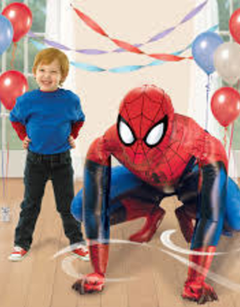 SpiderMan AirWalker includes helium local only