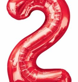 """34"""" Number Two - RED"""