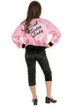 Pink Satin Jacket - S