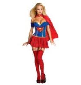 Secret Wishes Supergirl Corset Pack - L