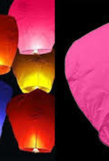 FLYING LANTERN ASSORTED COLOUR