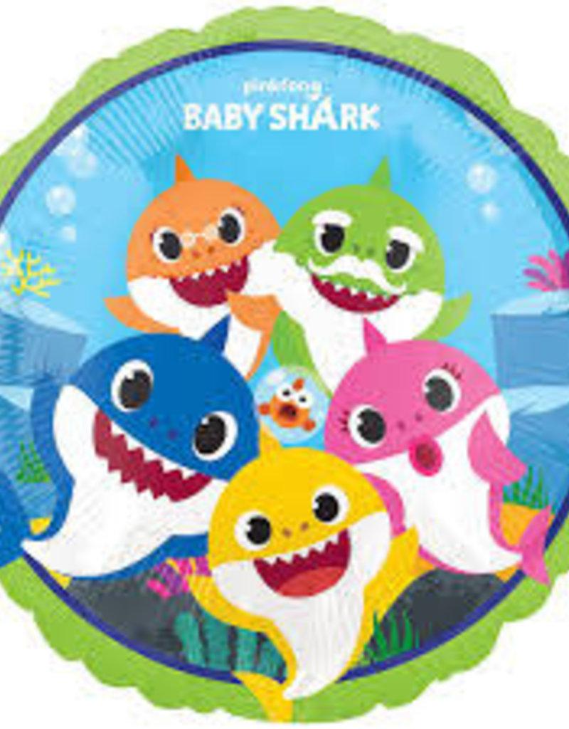 "BABY SHARK 17"" FOIL BALLOON"