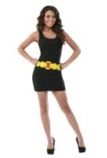 Black Widow Tank Dress - M