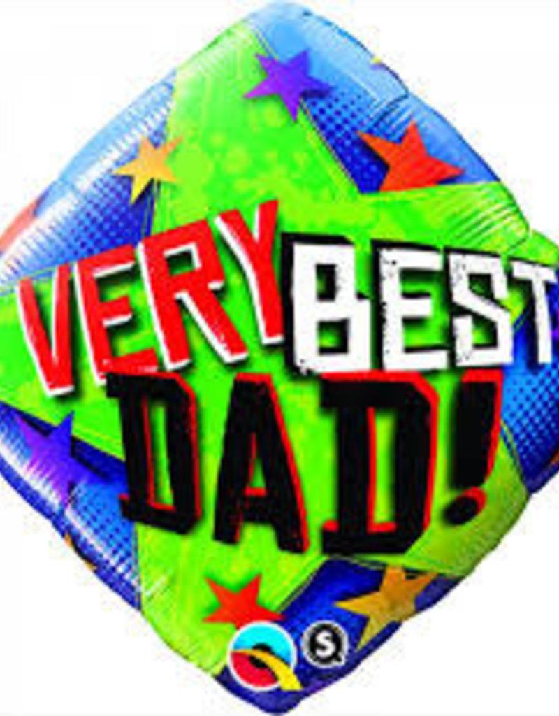 "Qualatex 18"" VERY BEST DAD"