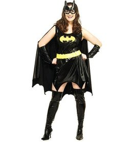Secret Wishes Batgirl with Mask - Plus Size