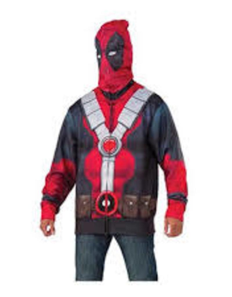 Rubies Costumes Deadpool Hoodie - Standard