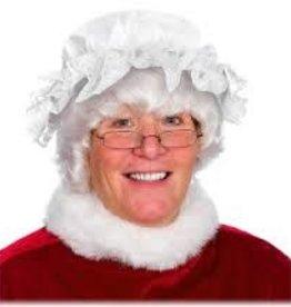 Mrs. Claus Cotton/Lace Charmer Hat