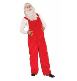 Forum Novelties PLUSH SANTA OVERALLS - Standard