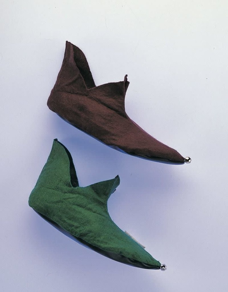 Rubies Costumes Brown Elf Shoes- with bells