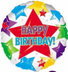 """Qualatex 18"""" Star Birthday"""