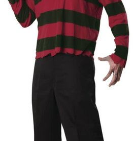 Rubies Costumes Freddy Krueger Mask and Shirt - XL