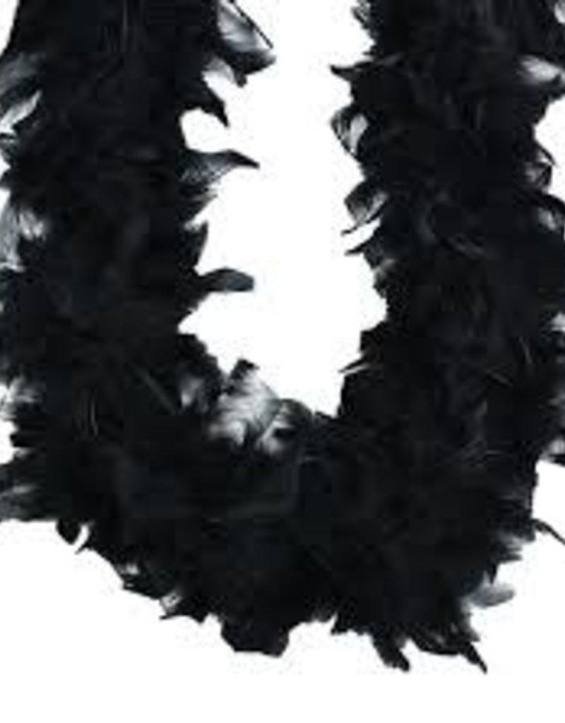 Feather Boa - Black