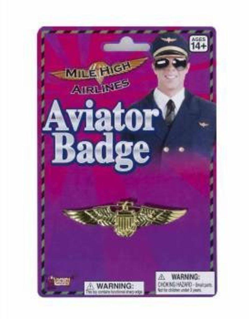Aviator Badge - Gold