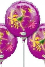 "9"" Tinkerbell EZ-Fill Foil Balloons - 3 Pack"