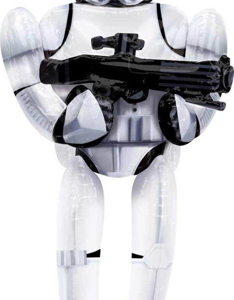 "Storm Trooper 70"" Airwalker Includes Helium Local Only"