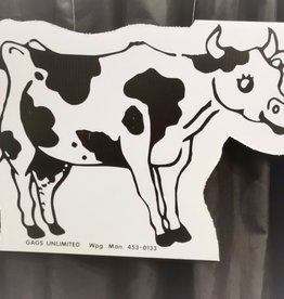 LAWN SIGN RENTAL INSTALLED - COWS