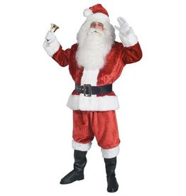 xxxl ADULT CRIMSON IMPERIAL SANTA SUIT Rental (wig and beard not included)