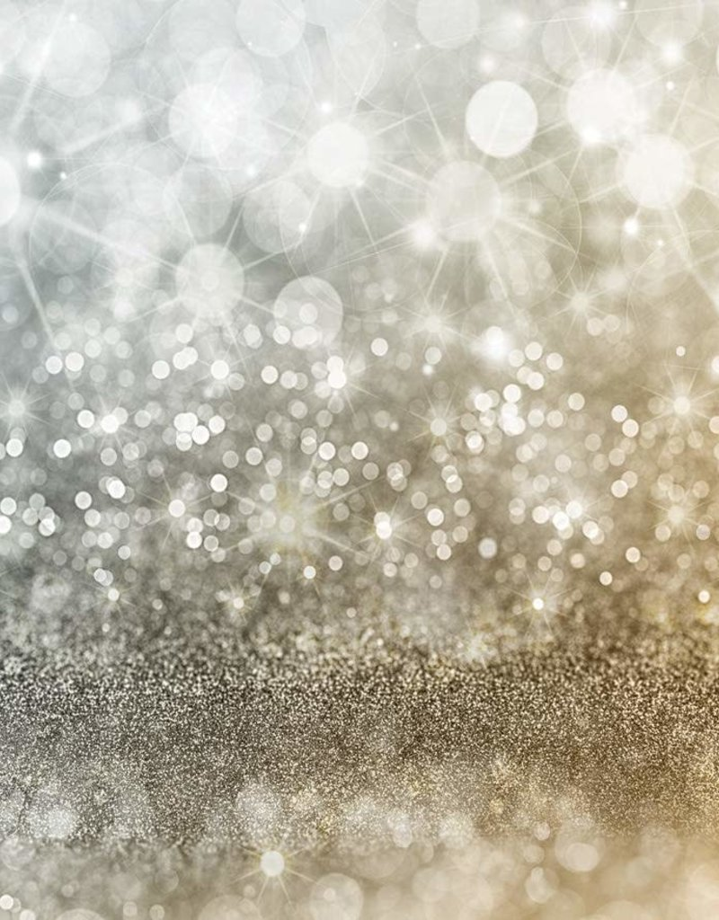 7'x5' Gold Bokeh Backdrop