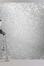 6'x8' Silver Glitter Backdrop