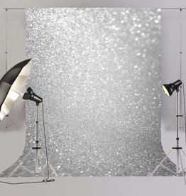 6'x8' Silver Glitter Backdrop