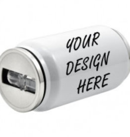 Personalized 12oz Stainless Steel Soda Can