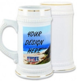 Personalized 22oz Beer Stein