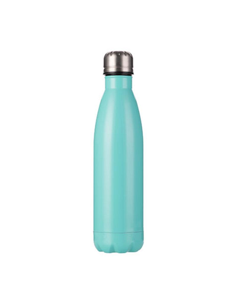 17oz Stainless Steel Water Bottle - Mint Green