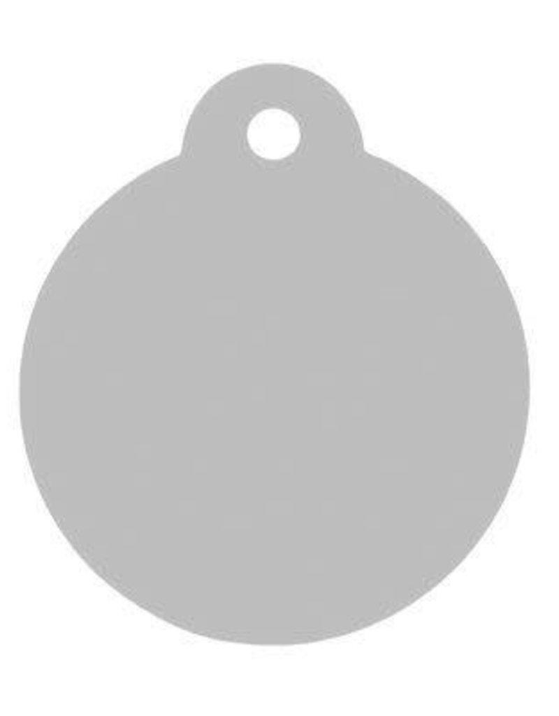 Aluminum Pet/charm Tag - Circle